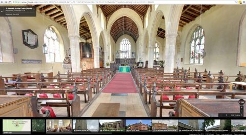 360 Tour Inside Church